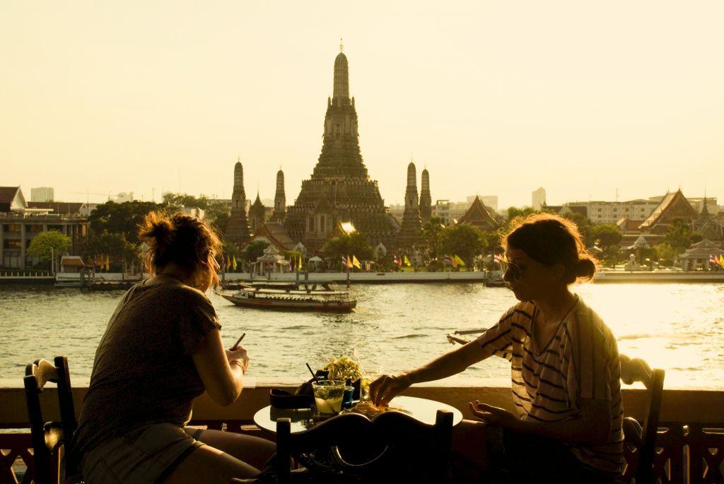 Banglampoo in Bangkok, Thailand