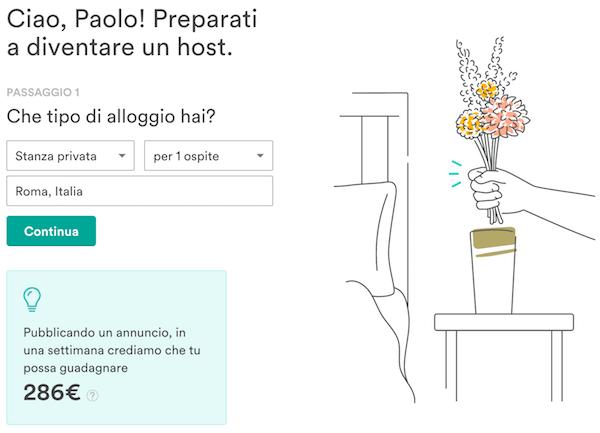 inserire annuncio airbnb