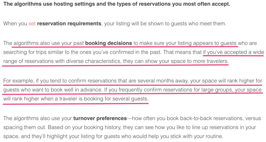 prenotazioni airbnb