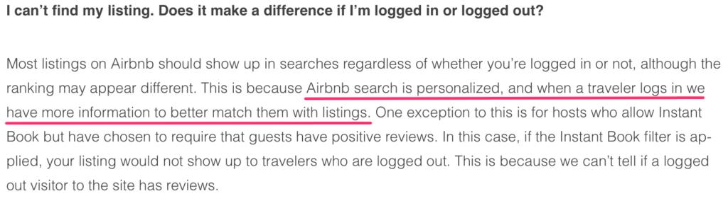 airbnb login